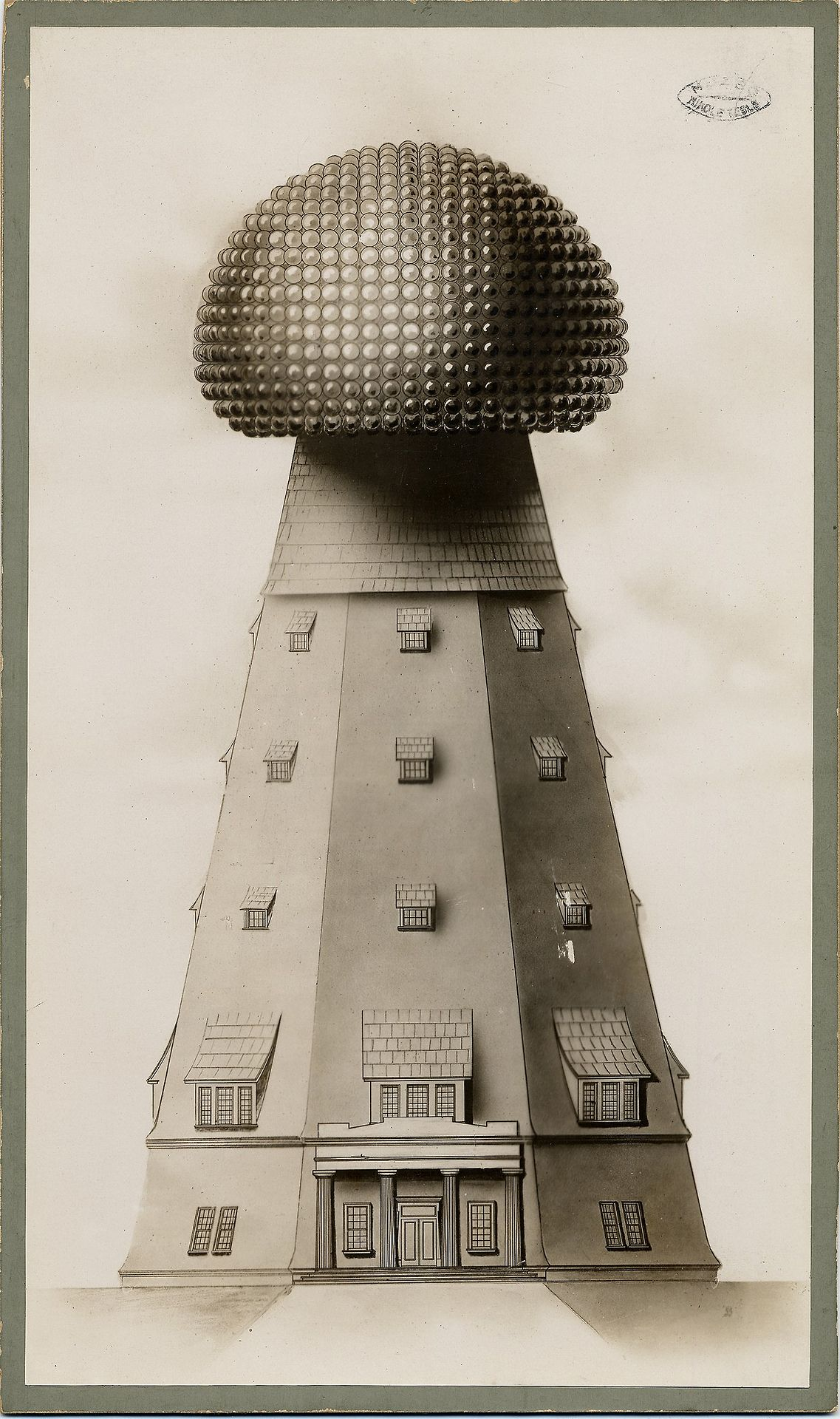 Illustration Of The Tesla Tower On Long Island In New York Also Teslawirelesspowercircuitjpg Known As Wardenclyffe It Began Construction 1901 An Early Wireless