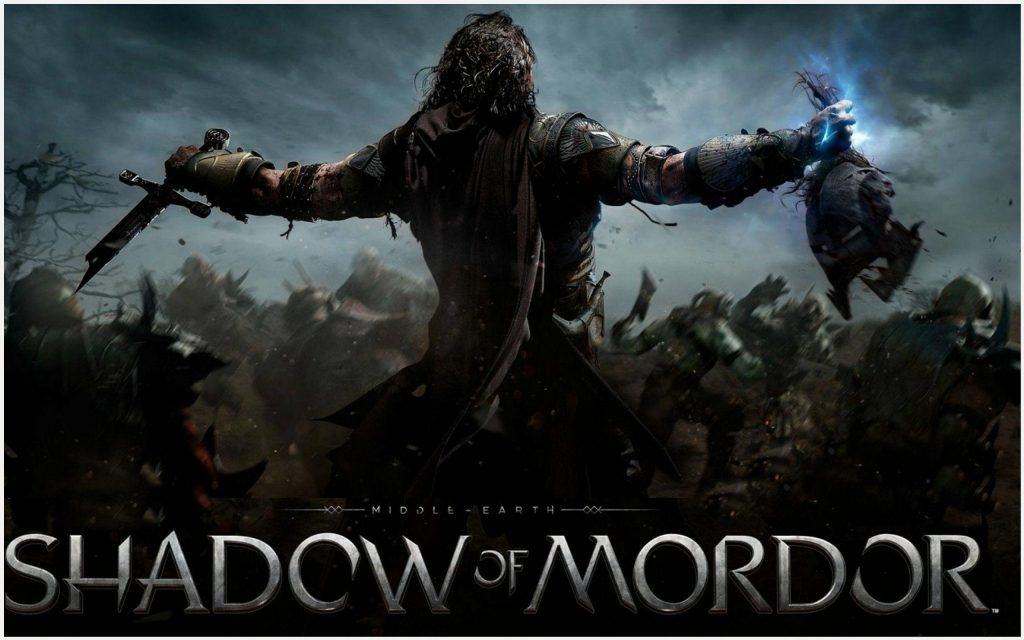 Middle Earth Shadows Of Mordor Poster Wallpaper Middle Earth
