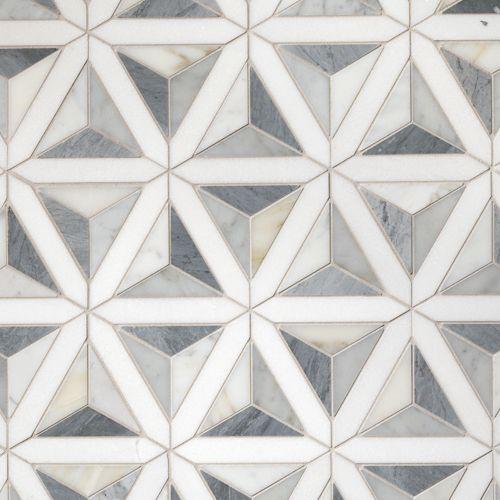 Duomo White Tile Patterns Artistic Tile Patterned Tile Backsplash