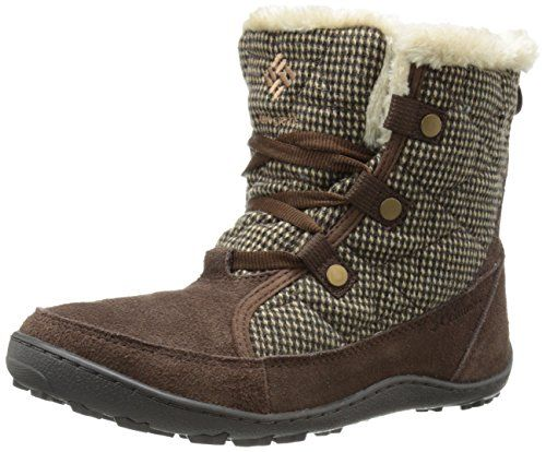 Columbia Womens Minx Shorty OH Tweed Winter Boot TobaccoBritish 6 M US ** Want additional info? Click on the image.