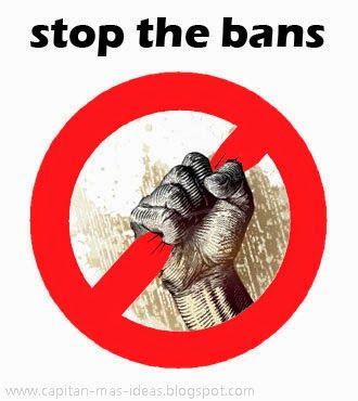 MI LABORATORIO DE IDEAS: STOP THE BANS