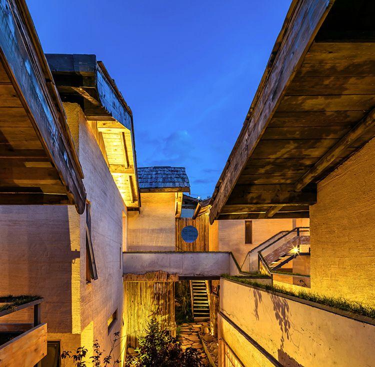 Zen Design Indirekte Beleuchtung Aussen Fassade Hotel Haus #holiday #house # Hotel #design
