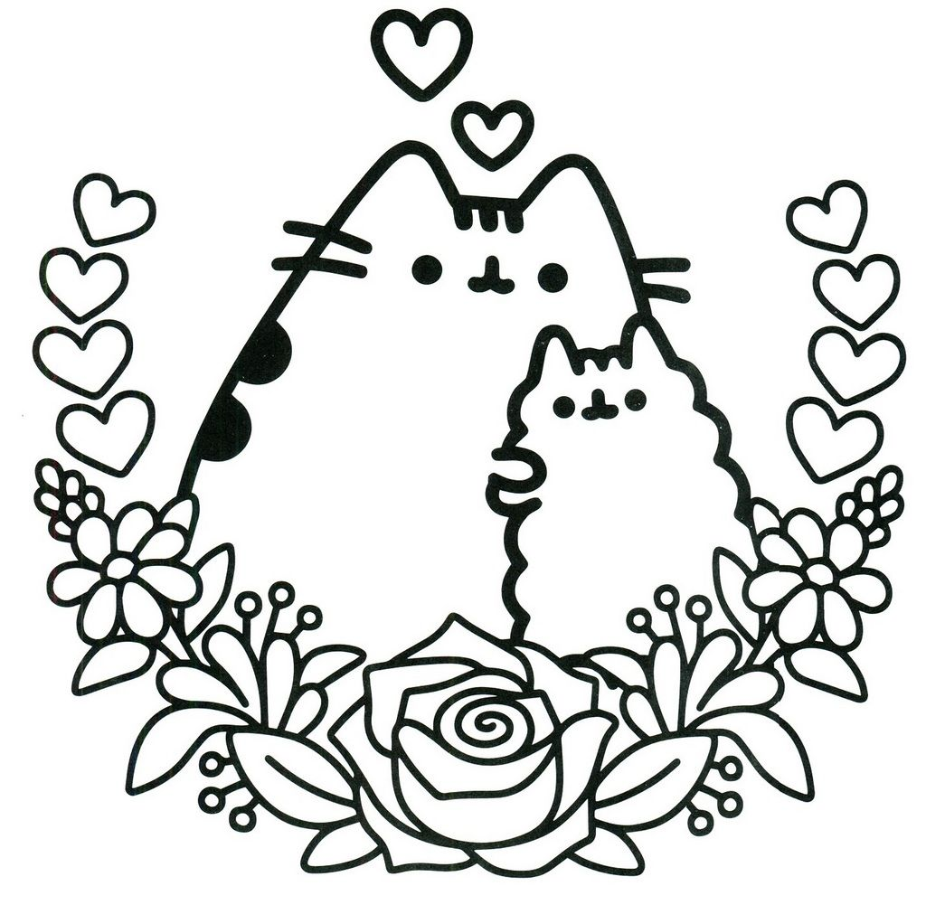Favourite Pusheen The Cat Oloring Sheet Unicorn Coloring Pages Pusheen Coloring Pages Cat Coloring Page