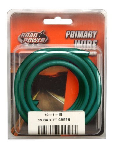 Coleman Cable 10 1 15 10 Gauge 7 Foot Automotive Copper Wire Green By Coleman Cable 7 52 Coleman Cable 10 1 1 Electrical Wire Connectors 10 Things Coleman