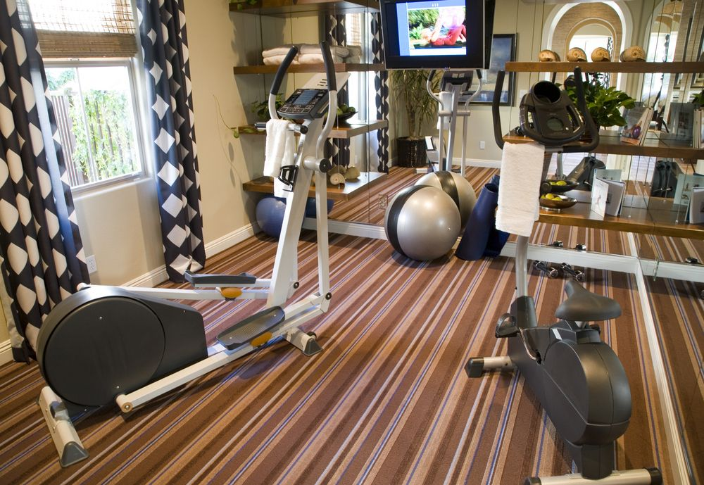 27 Luxury Home Gym Design Ideas for Fitness Buffs | Cardio machines ...