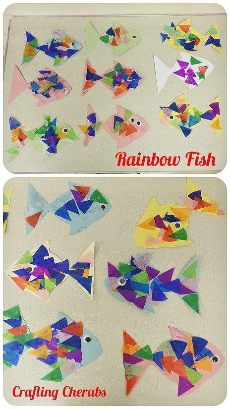 Rainbow Fish Toddler Craft Pre Schooler
