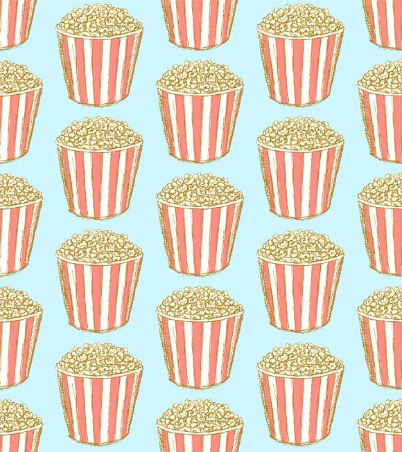 Popcorn Wallpaper: Tumblr Backgrounds Popcorn - Google Zoeken