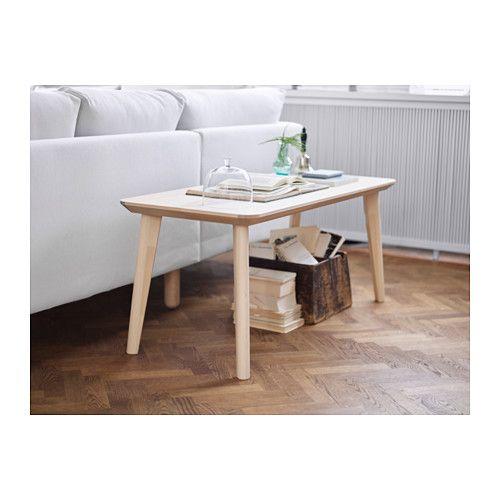 Living Room Ikea Indonesia: LISABO Coffee Table, Ash Veneer