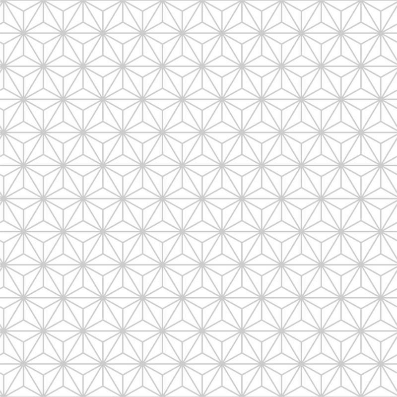 Papier Peint Forme Geometrique.Papier Peint Origami Blanc Et Gris Paillete Ugepa