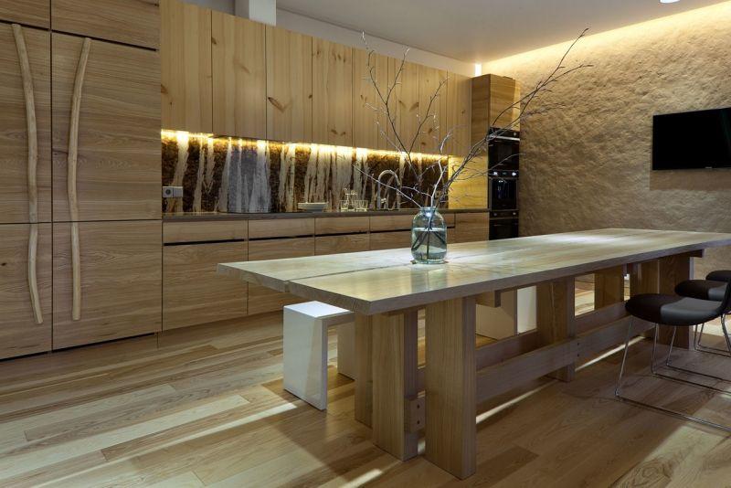 LED Beleuchtung in der Küche | model room | Pinterest | Indirekte ...