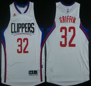 los angeles clippers jersey 32 blake griffin revolution 30 swingman 2015 new white jerseys