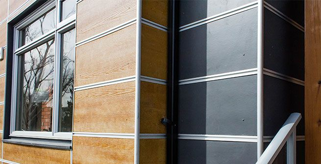 Fiber Cement Panels Exterior Siding Options Modern House Siding Siding Options