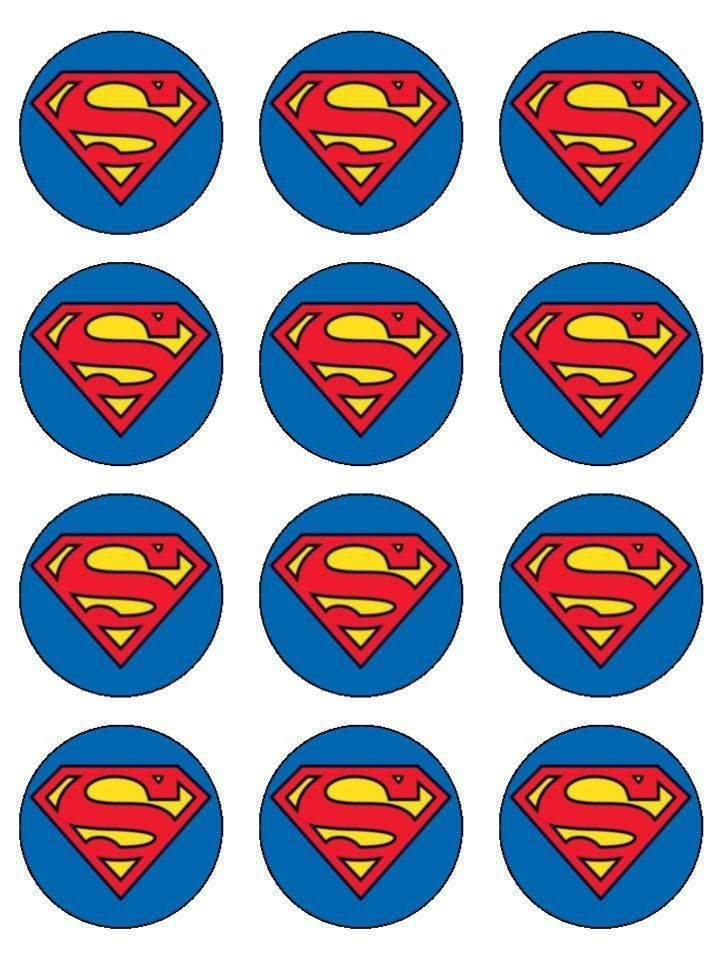 Superman toppers Superman Cake Topper 83bba2eeb2259