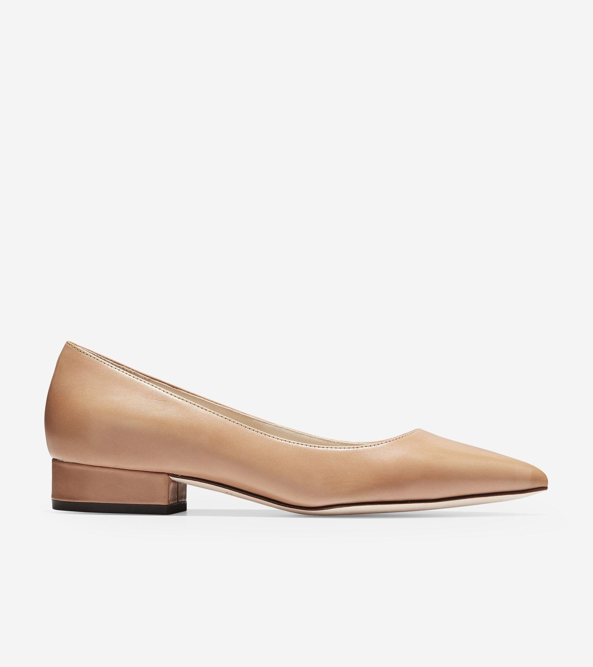 Women Cole Haan Shoes Vesta Skimmer Low Heel Casual Flats NEW