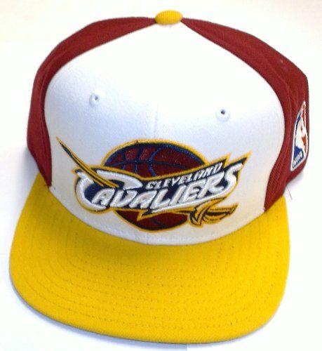 833bb550eda NBA Cleveland Cavaliers Flat Bill Snapback Adidas Hat - Osfa - NG46Z -  http