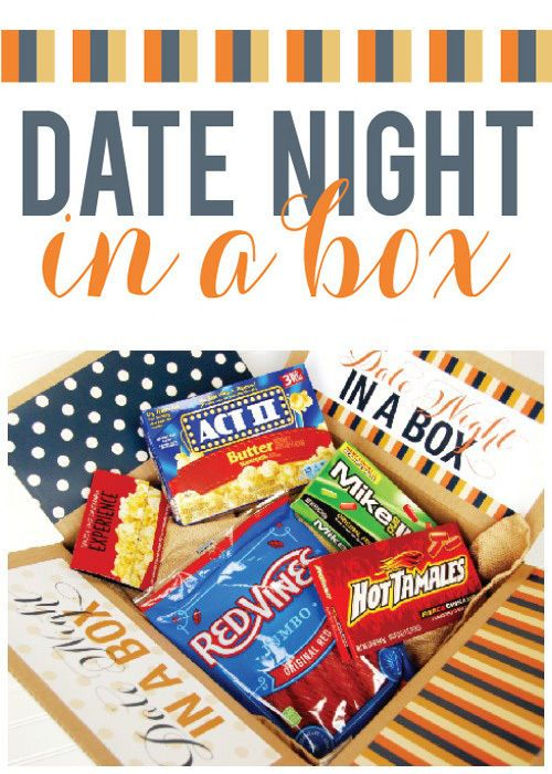 How To Make A Date Night In A Box! | Date night gifts ...