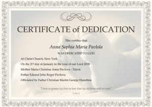 graphic relating to Printable Baby Dedication Certificate referred to as No cost Printable Child Blessing Certification Templates