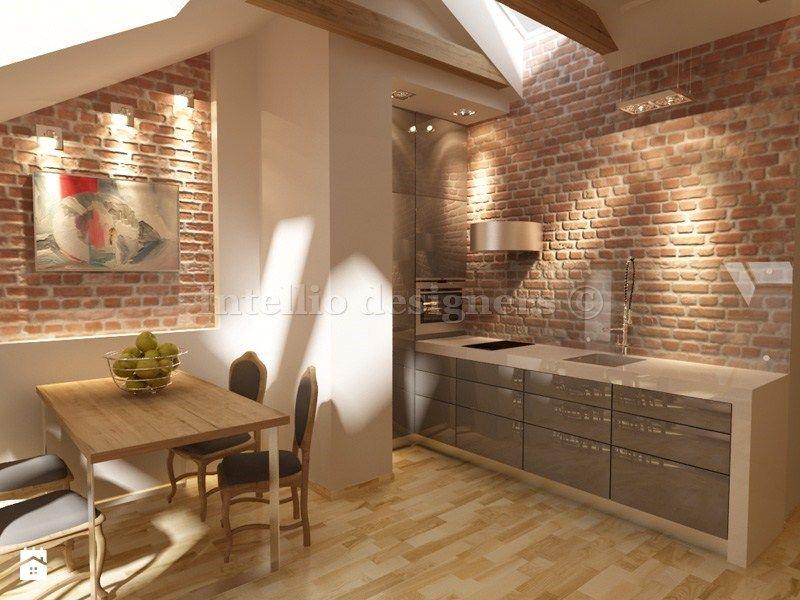Zdjecie Kuchnia Na Poddaszu Home Home Decor Kitchen