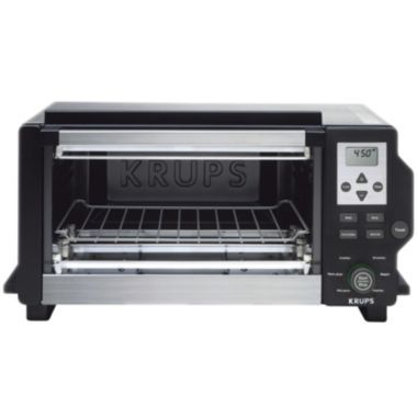 Black Friday 2017 Krups Convection Toaster Oven Broiler With Defrost Function And Stainless Steel Housing Silver From Cyber Monday