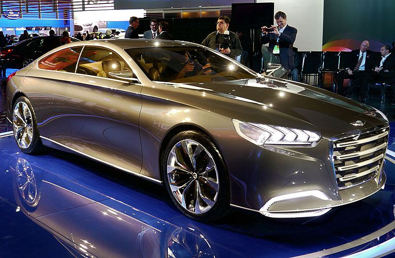 Hyundai Hcd 14 Genesis Concept Best New Cars Coming Out Introduced At The Detroit Auto Show 2017