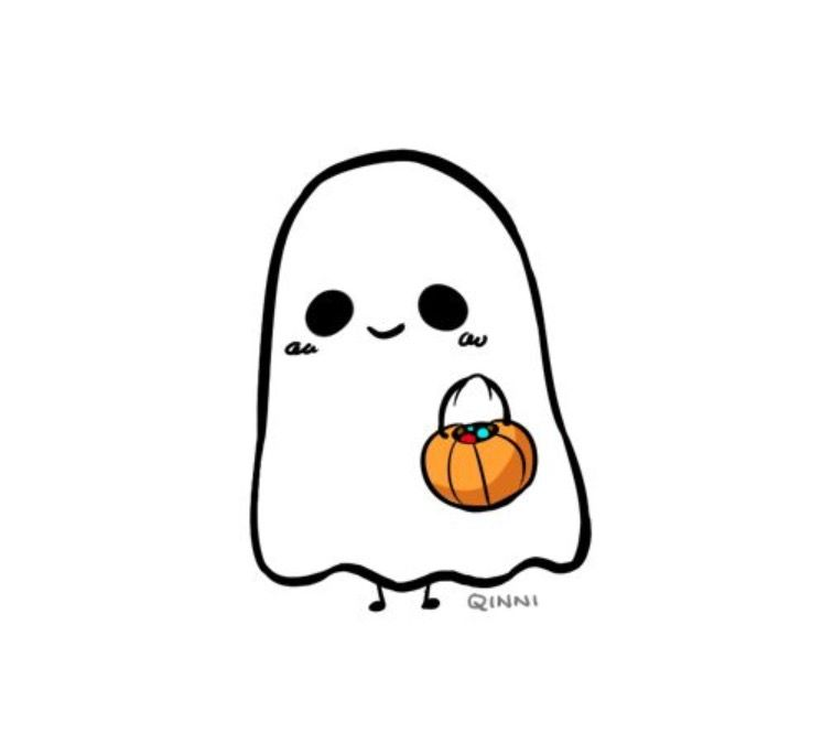 Ghosty In 2019 Cute Halloween Drawings Halloween Drawings