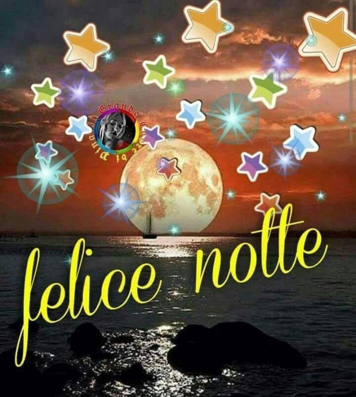 Felice Notte Picture Notte Auguri Di Buona Notte E