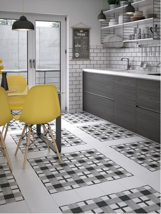 Special Order Patchwork And Pattern Tiles Art Collection This Is Jessica Helgerson Patterned On Kitchen Floors