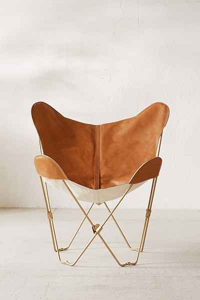 leather butterfly chair cover urban outfitters want leather butterfly chair butterfly. Black Bedroom Furniture Sets. Home Design Ideas