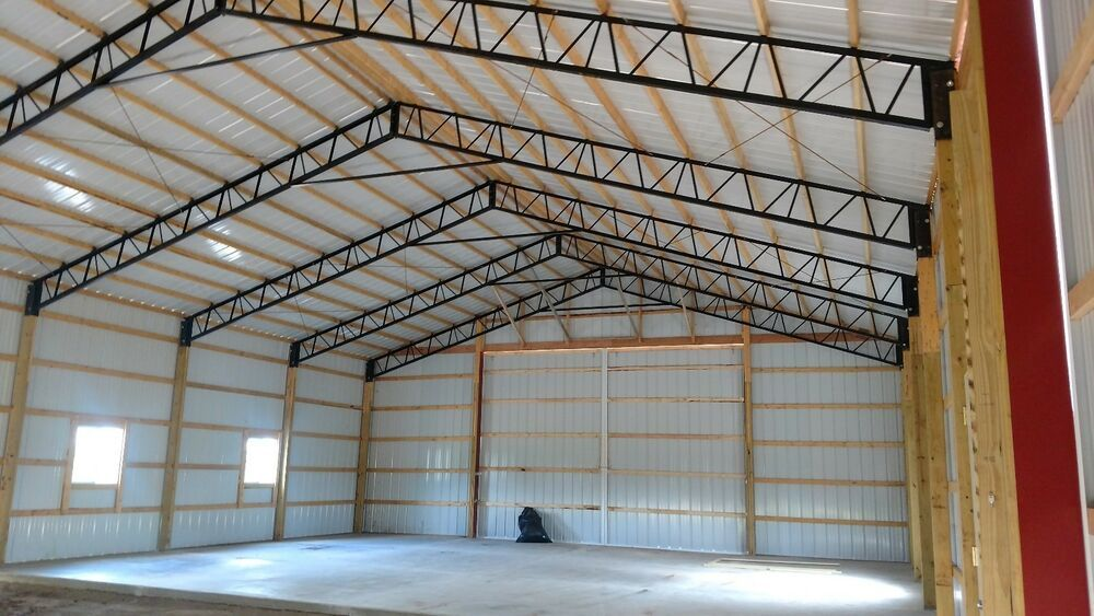 Steel Truss Pole Barn 30 Hd Condition Is New Shipped With Ltl
