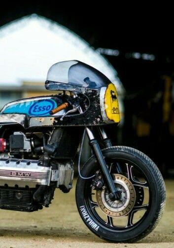 BMW K100 racer. Ejemplo increible d buen gusto.
