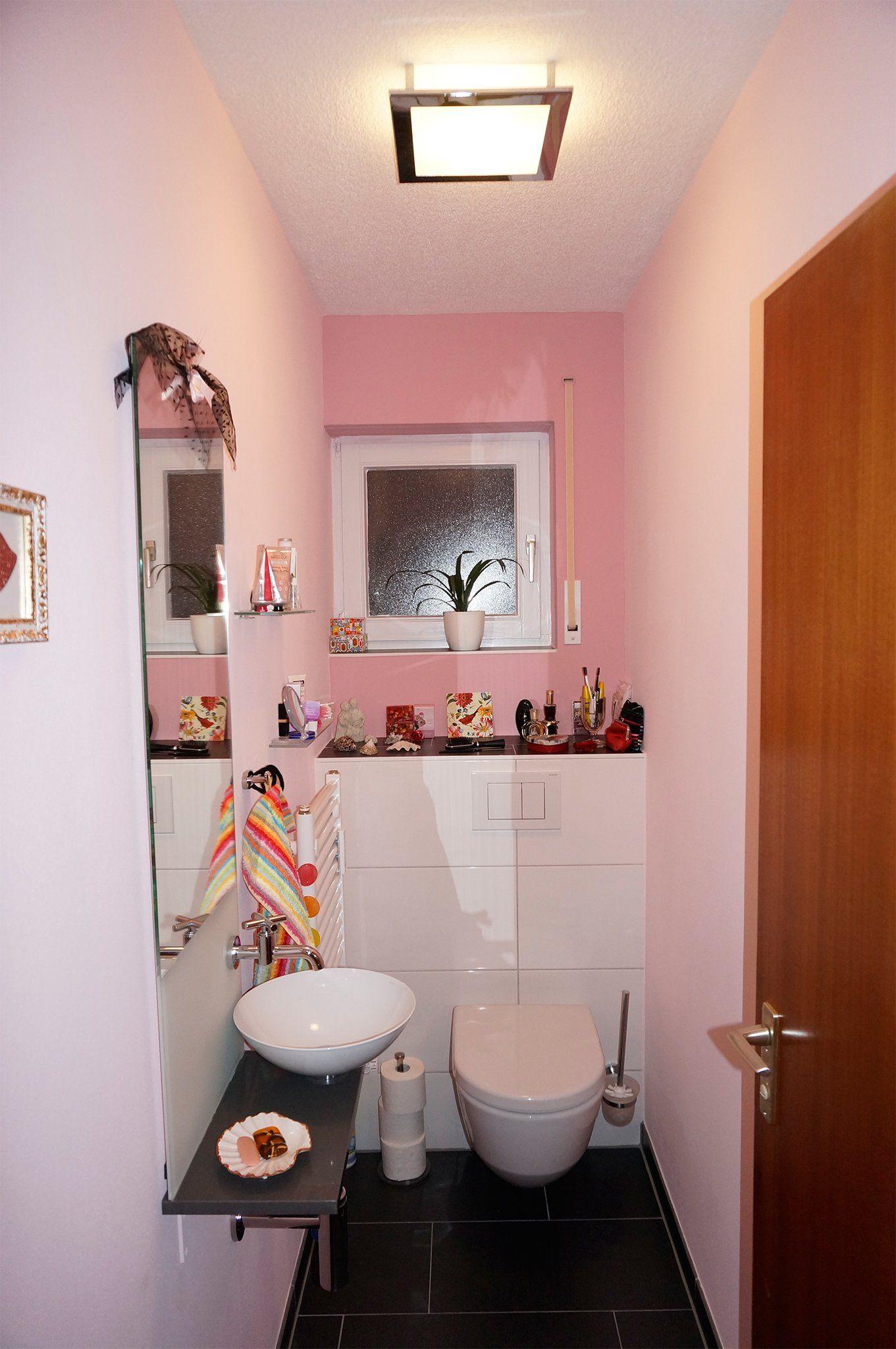 rosa g ste wc hier finden sie tipps inspiration in 2019 bad pinterest g ste wc gast. Black Bedroom Furniture Sets. Home Design Ideas