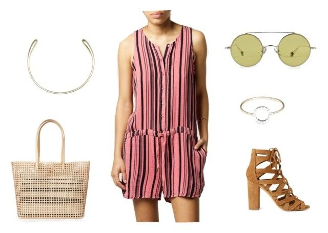 """""""Sunny Walk"""" by azaleasf on Polyvore featuring Stateside, SOKO, Dolce Vita, Loeffler Randall, women's clothing, women, female, woman, misses and juniors"""