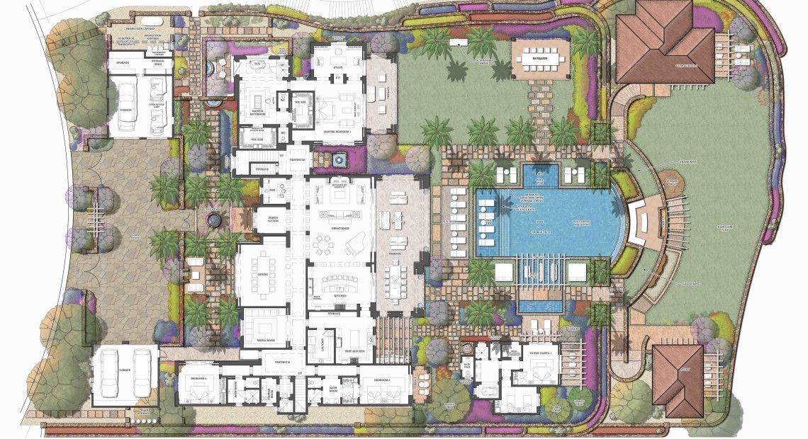 Related Image Castle House Plans Hotel Floor Plan Los Cabos