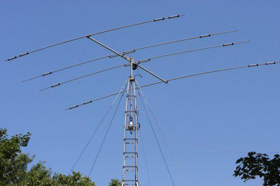 W2NRA HAM RADIO - 4-Element Beam HF Amateur Radio Antenna