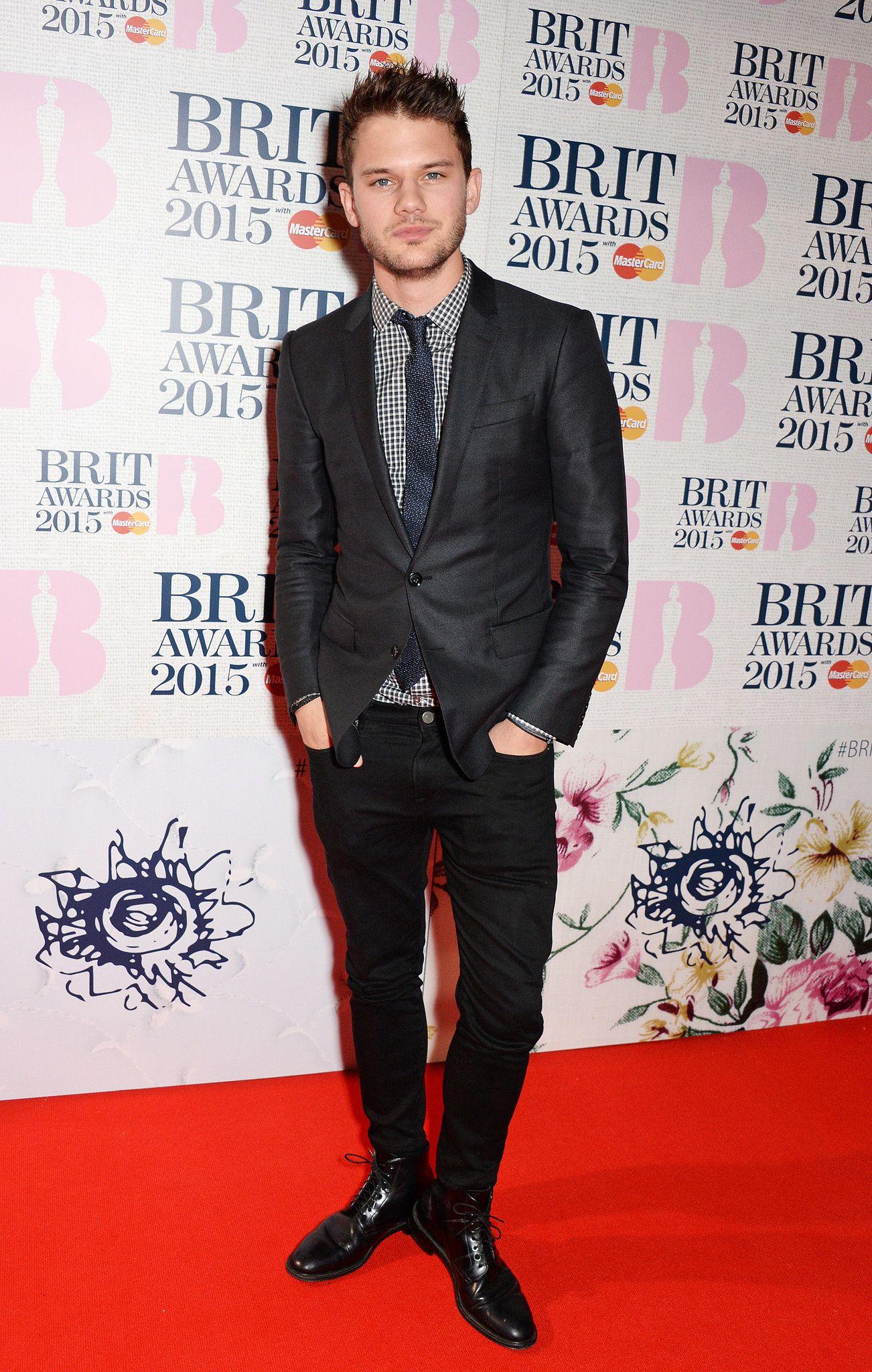 Brit Awards 2015: homens estilos no red carpet.
