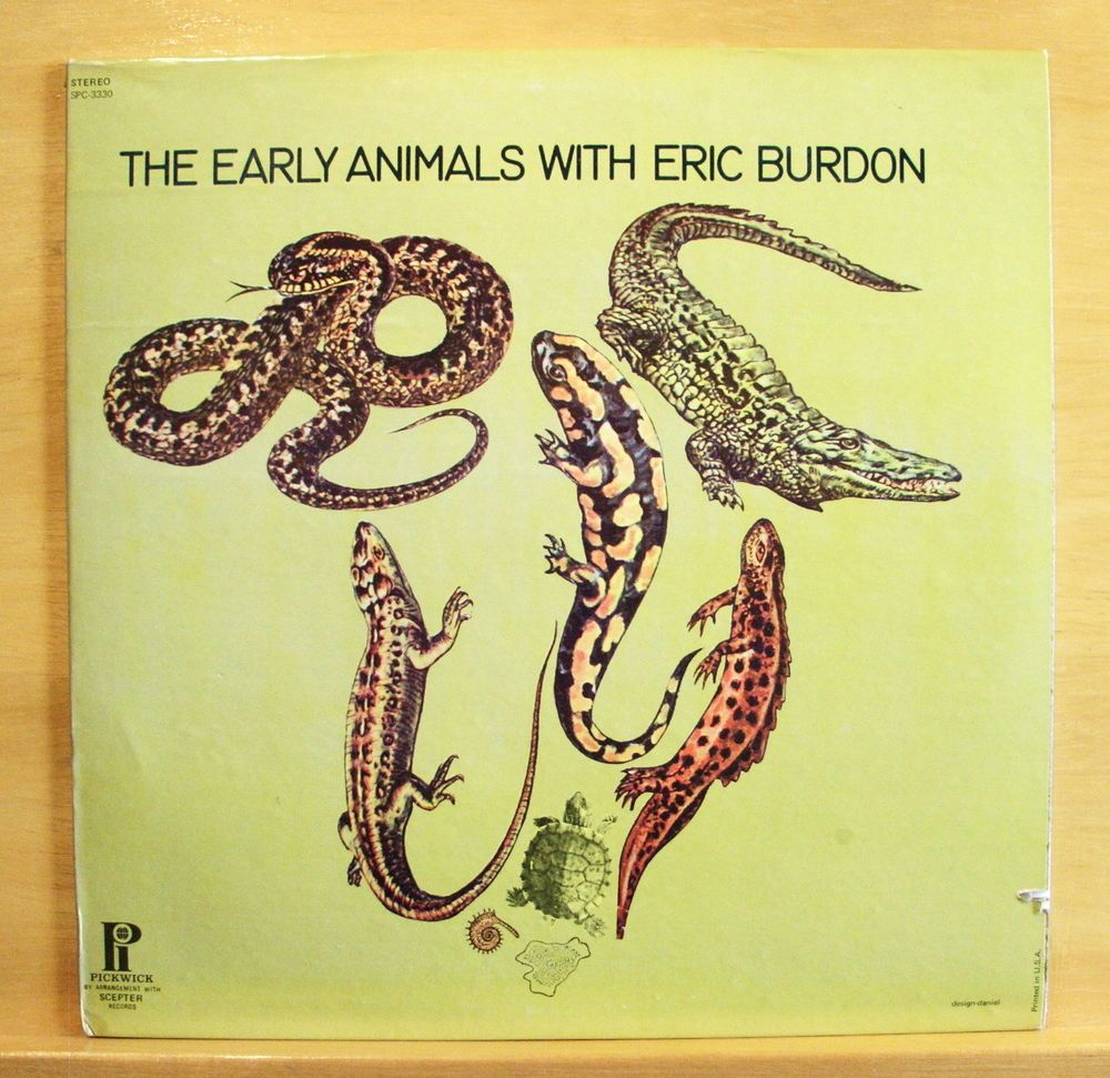 THE ANIMALS - The early Animals with Eric Burdon - mint minus - Vinyl LP - RARE