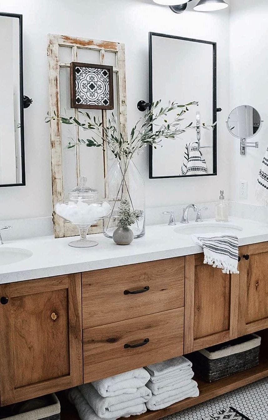Bathrooms Remodel Bathroom Decor, Modern Farmhouse Small Bathroom Ideas Photo Gallery