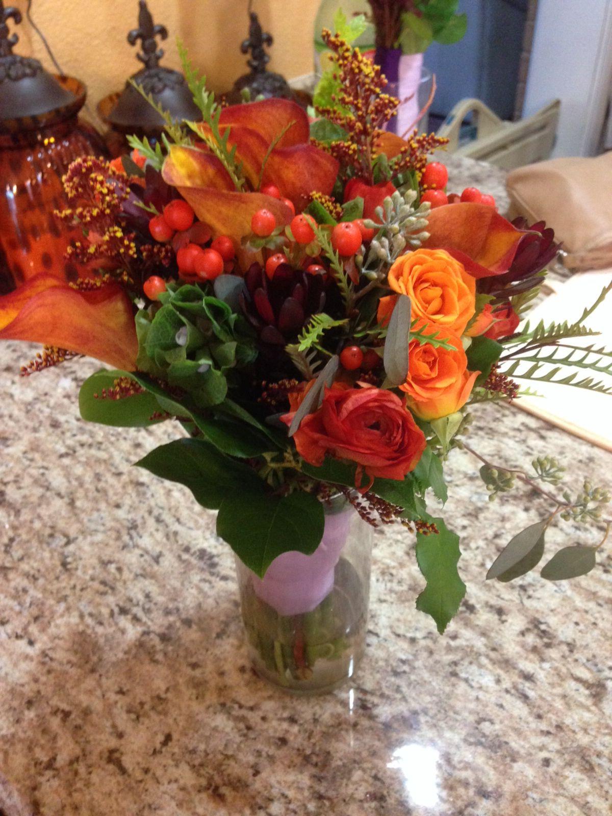 Fall bouquet BEAUTIFUL!