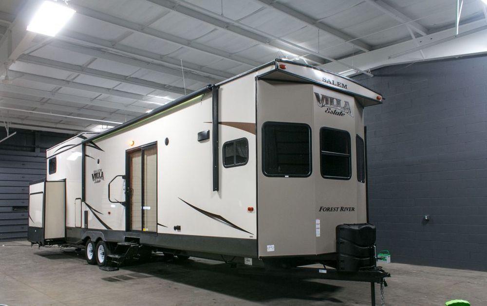 2017 Forest River Salem Villa 4102bfk Park Model Travel Trailer Camper Rv Loft Camper Trailer For Sale Recreational Vehicles Camping Trailer