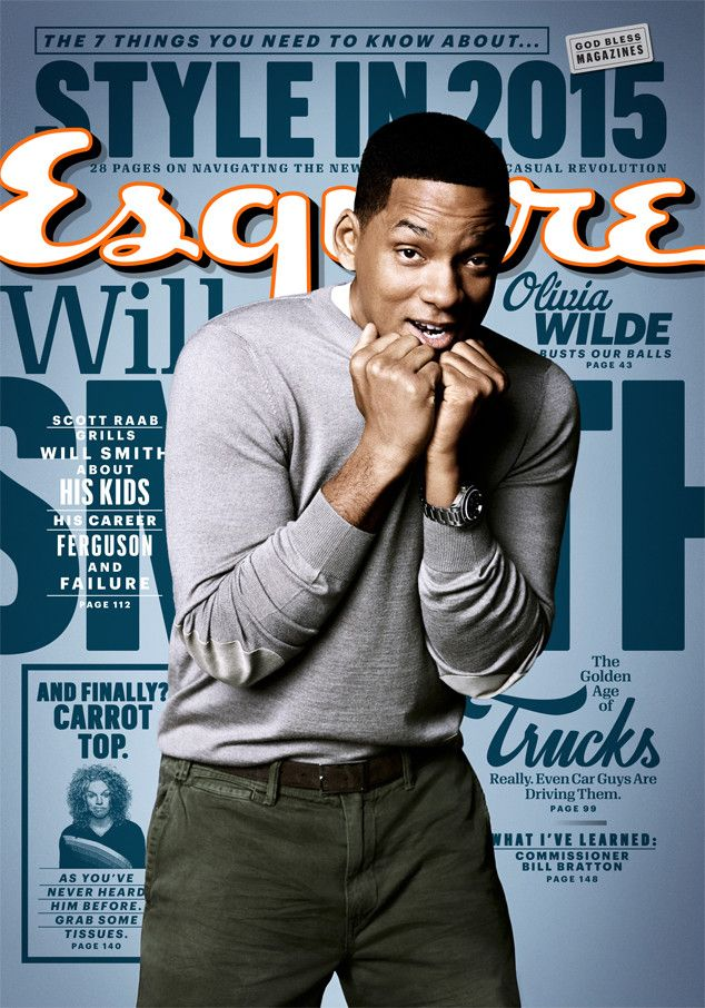 Will Smith Reveals the ''Most Painful Failure'' in His Career, Says He'll Never Be ''Good Enough''  Will Smith, Esquire