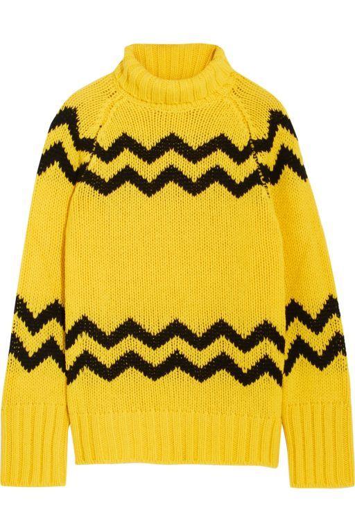 #Joseph  #Rollkragenpullover  #ZickZack #yellow #pullover#black #casual #winter #cotton #fall #herbst #damenmode #exclusivefahsion #fashion #LeoniExclusive