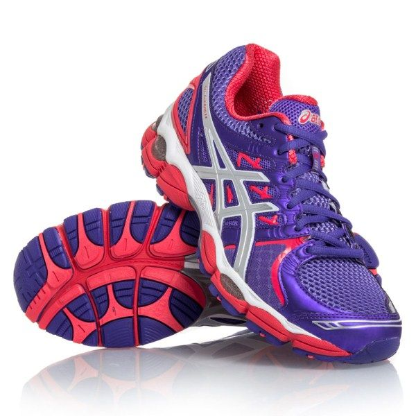 Asics Gel Nimbus 14 - Womens Running Shoes - Purple/Lightning/Diva Pink