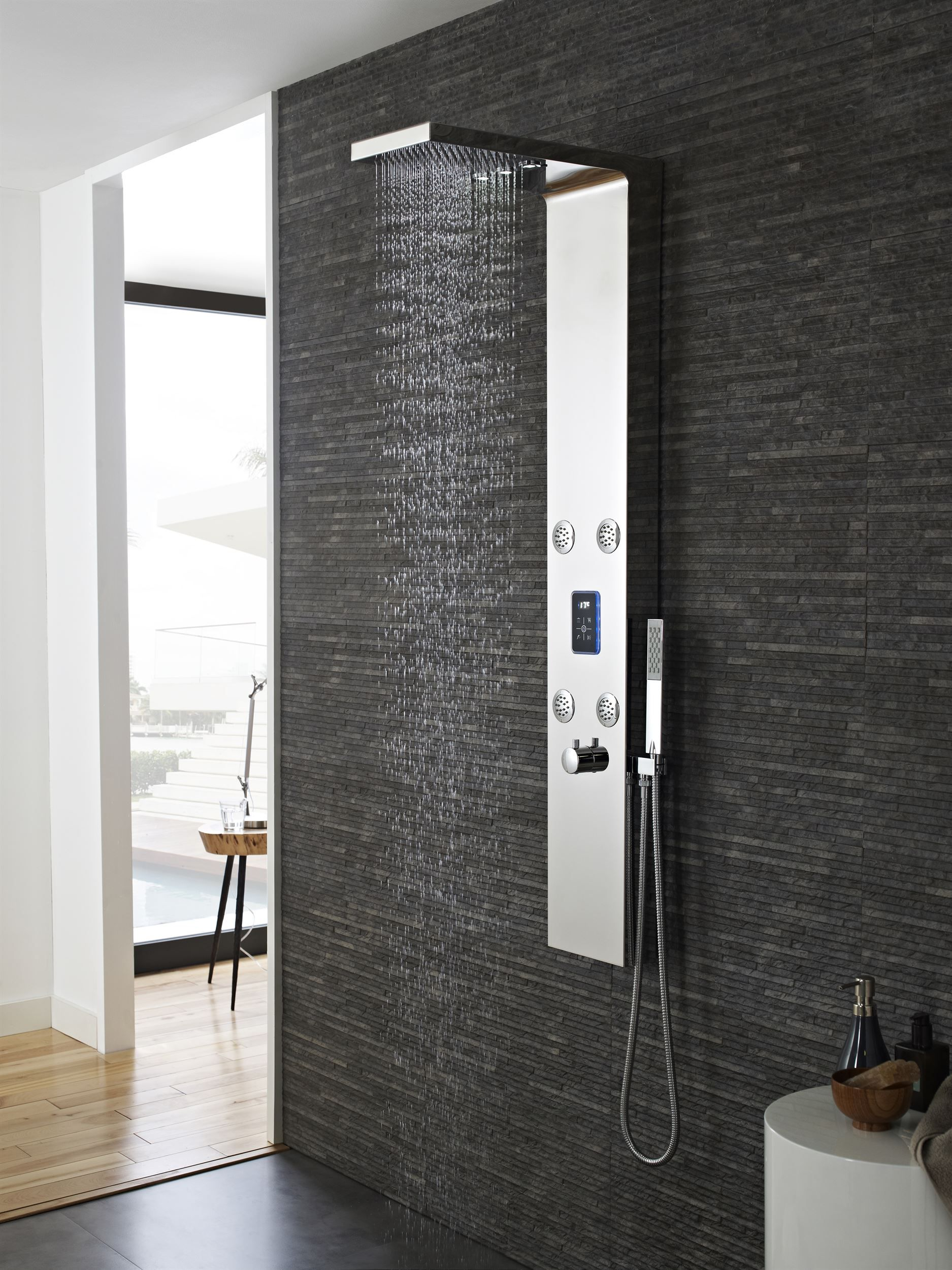 Hudson Reed Genie Thermostatic Shower Panel | Savisto Bathrooms ...