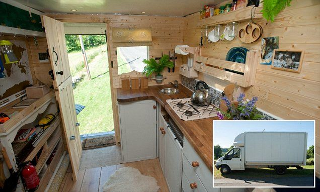Adam Croft And Nikki Pepperell From Stroud In Gloucestershire Have Converted A GBP3500 Ford Transit