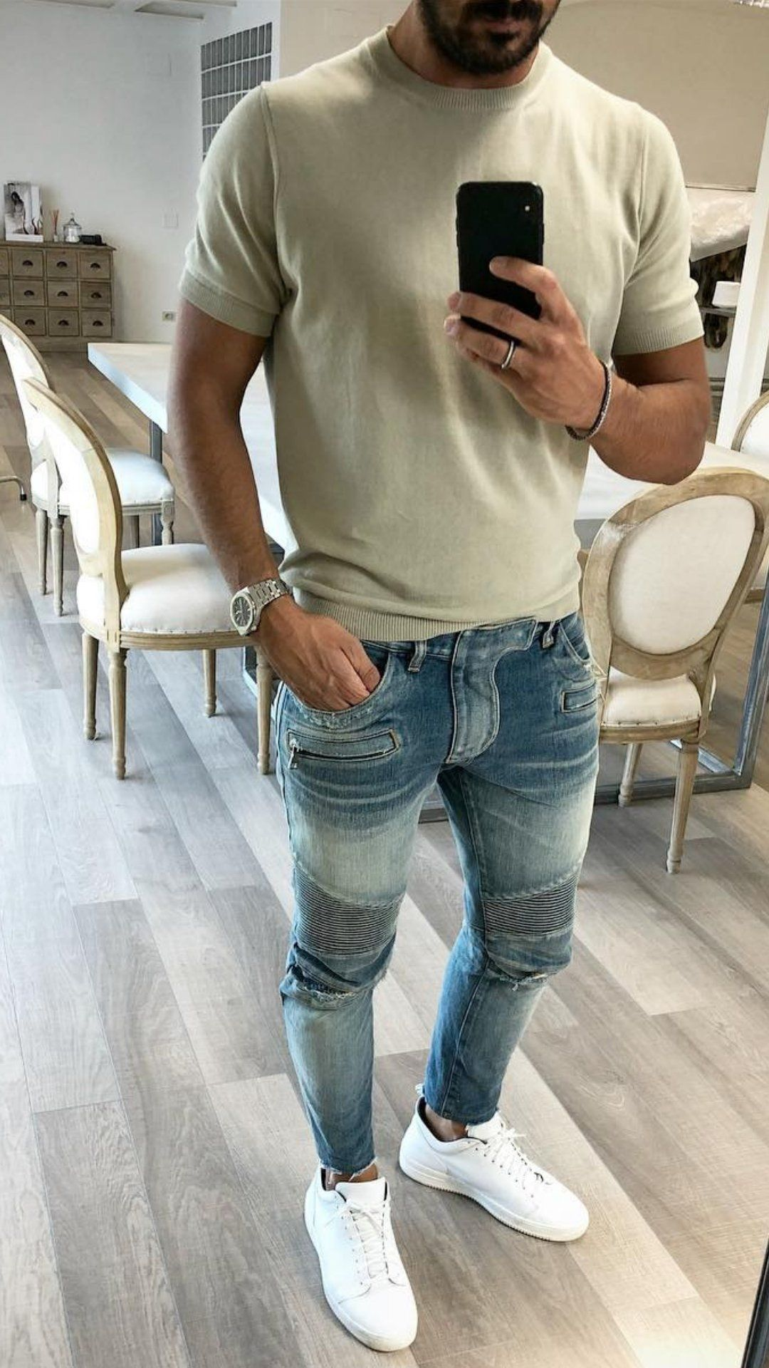 5 Daily Wear Casual Outfits For Men in 2020 | Older men's