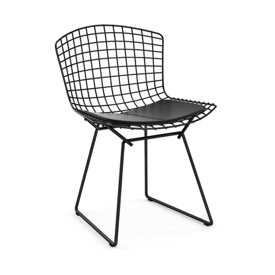 Chaise Bertoia Structure Chromee Knoll Bertoia Side Chair Furniture Chair