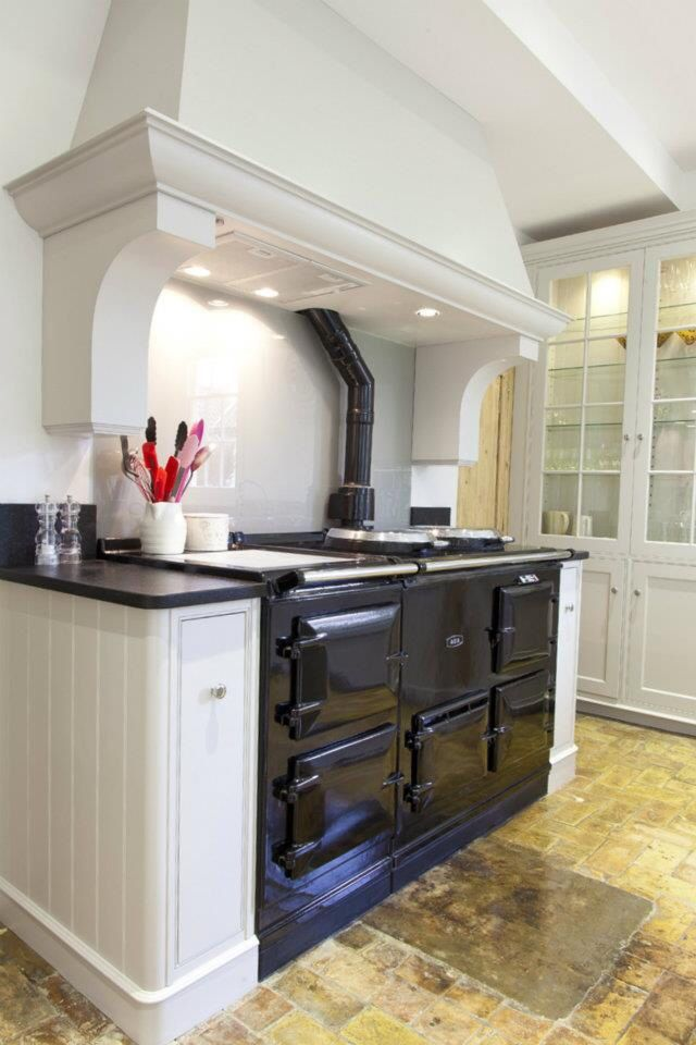 Aga And Over Mantle Kitchen Canopy Kitchen Mantle Kitchen Cooker