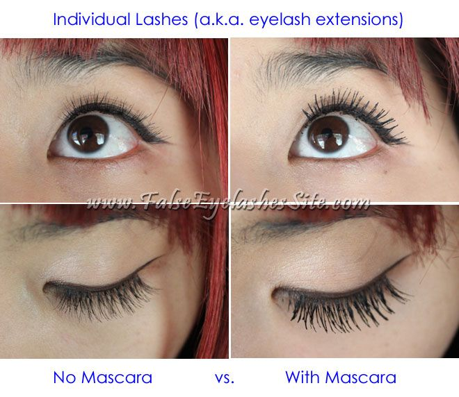 Difference Between Mascara Vs False Eyelashes Beautify Pinterest Mascaras Lashes And Natural