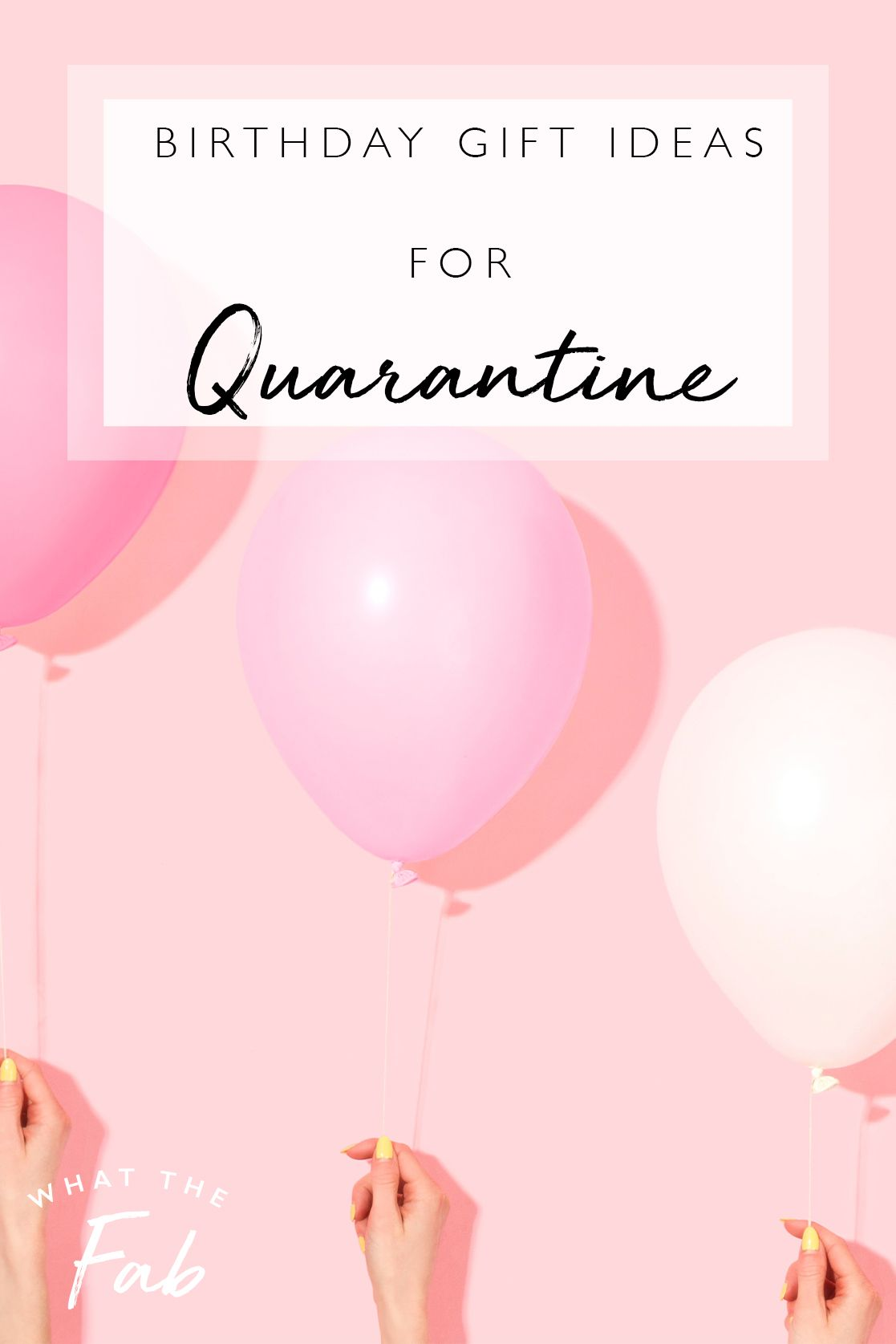 Do You Know Someone Who Has A Birthday During Quarantine Having A Birthday In Quarantine Sucks But You Can Make It Better By Getting Someone Any Of These Gift