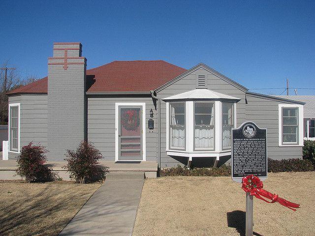 George W Bush Boyhood Home Midland Tx Midland Midland Texas